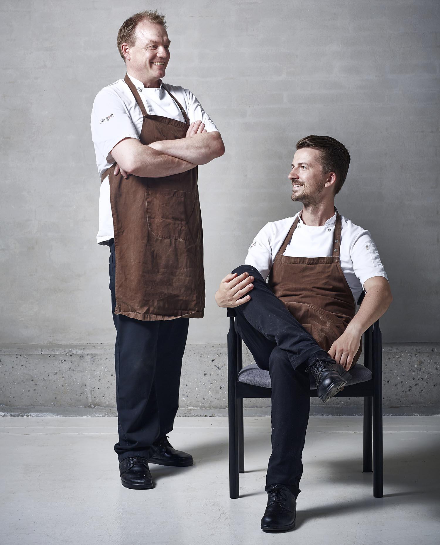 Martin og Jeppe Spis godt
